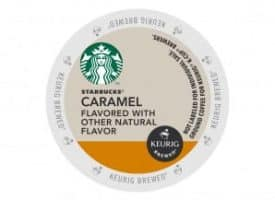Starbucks Caramel Medium Roast K-Cup Pods 24ct
