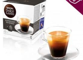 Nescafe Dolce Gusto Coffee Pods Espresso Intenso Dark Roast 16ct