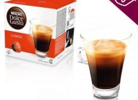 Nescafe Dolce Gusto Coffee Pods Lungo Dark Roast 16ct