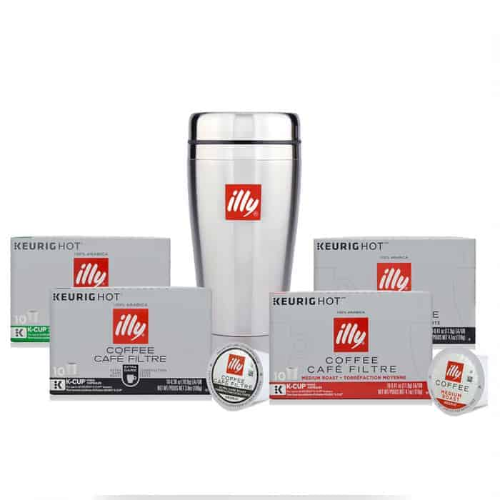 Illy Variety K-Cup Pods Bundle 40ct