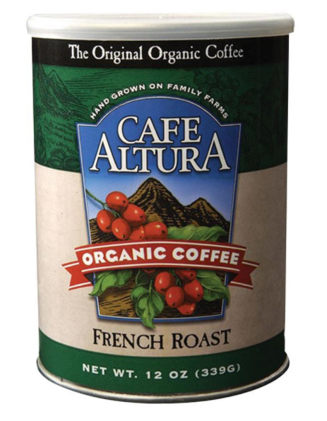 Cafe Altura Organic French Roast Ground Dark Roast Coffee 72oz