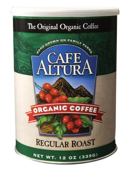 Cafe Altura Organic Regular Roast Ground Light Roast Coffee 72oz
