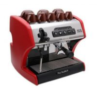 La Spaziale Mini Vivaldi ii Commercial Red Coffee Machine