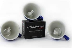 Creature Cups Specialty Coffee Mugs - Hoppers (Frog, Squirrel, Rabbit)
