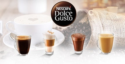 Nescafe Dolce Gusto Capsules and Coffee Pods
