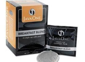 Java One Breakfast Blend Light Roast Coffee Pods 14ct