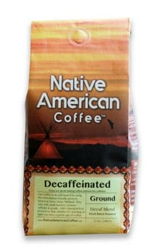 Native American Coffee Decaf Dreamcatcher Ground Medium Roast 1lb