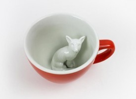 Creature Cups Specialty Coffee Mugs - Fox