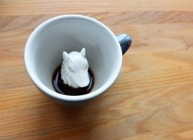 Creature Cups Specialty Coffee Mugs - Wolf Mug