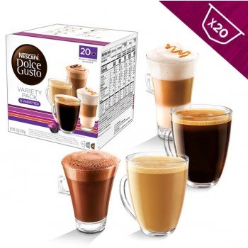 Nescafe Dolce Gusto Coffee Pods Variety Pack 20ct