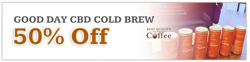 Good Day CBD Cold Brew Coffee Discount Code - Black Friday