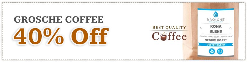 Grosche Coffee Discount Code - Black Friday
