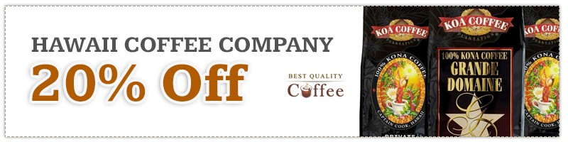 Hawaii Coffee Company Discount Code - Black Friday
