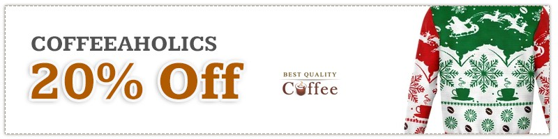 CoffeeAholics Black Friday Discount Code