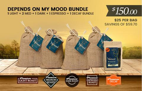 Lifeboost Coffee Organic Depends on my Mood Bundle 72oz