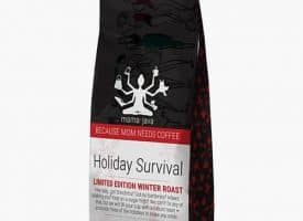 Mama Java Holiday Survival Dark Roast Ground Coffee 12oz