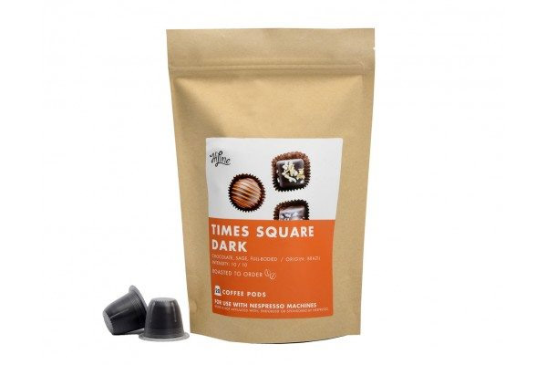 HiLine Coffee Time Square Dark Roast Nespresso® Compatible Pods 20ct