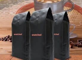 Snatched Coffee Medium Roast Whole Bean 36oz