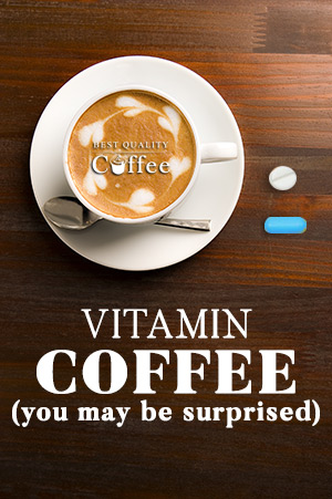 Vitamin Coffee Healthy Coffee