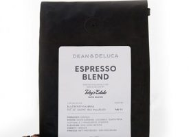 Dean and Deluca Toby's Estate Espresso Whole Bean Dark Roast Coffee 12oz