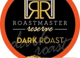 Roastmaster Reserve Mt. Elgon Blend Dark Roast Pods 24ct