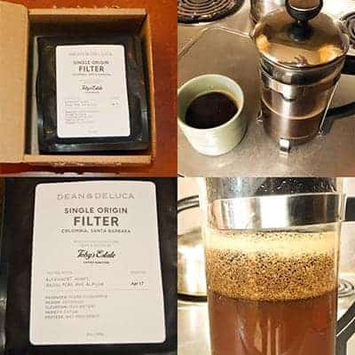 Dean & DeLuca Coffee Review - Tobe Estates