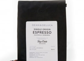 Toby's Estate Dean & Deluca Single Origin Espresso Dark Roast 12oz