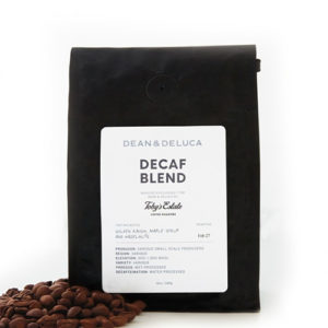 Toby's Estate Dean & Deluca Decaf Blend Medium Roast Coffee 12oz