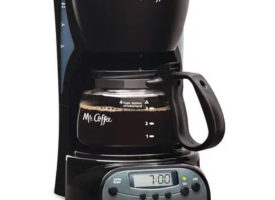 Mr Coffee 4 Cup Programmable Coffee Maker