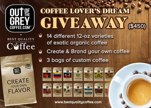 Ultimate Coffee Lover's Dream - Create your Own Coffee & Explore 14 Exotic Coffee Varieties from South and Central America
