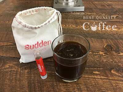 Sudden Coffee Review