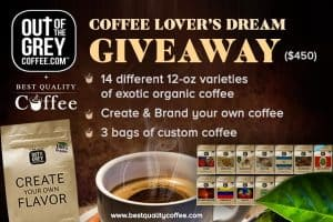 Out of the Grey Coffee Giveaway