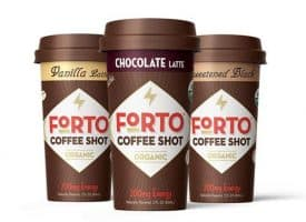 Forto Organic Coffee Shot 200mg Variety Pack 6ct