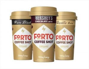 Forto Organic Coffee Shot 100mg Variety Pack 6ct