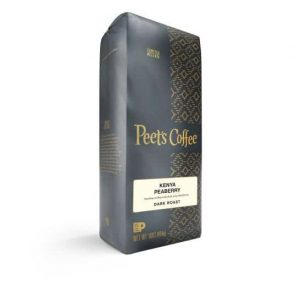 Peet's Coffee Kenya Peaberry Dark Roast 16oz