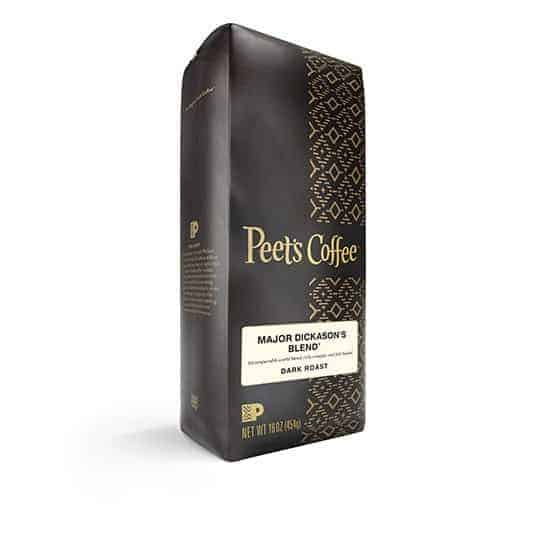 Peet's Coffee Major Dickason Dark Roast 16oz