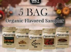 Out of the Grey Coffee Organic Sampler 5 X 4oz Bags