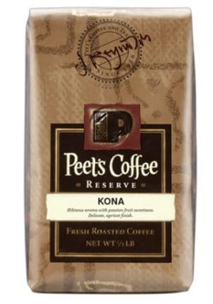 Peet's Coffee Kona Coffee Dark Roast 16oz
