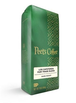 Peet's Coffee Los Cafeteros Blend Dark Roast 16oz