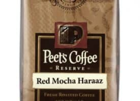 Peet's Coffee Red Mocha Haraaz Dark Roast 16oz