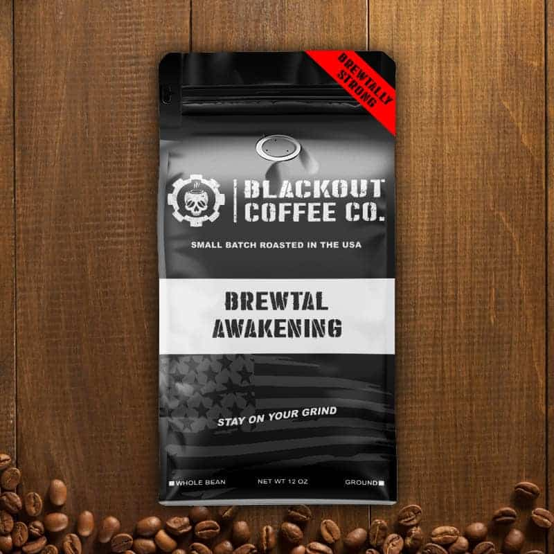Blackout Coffee Brewtal Awakening Dark Roast 12oz