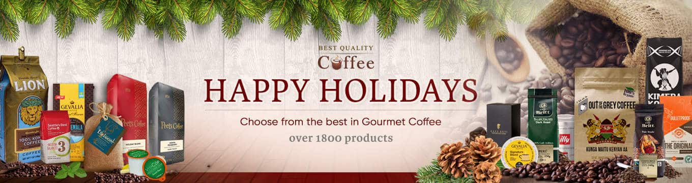 Holiday Coffee Banner