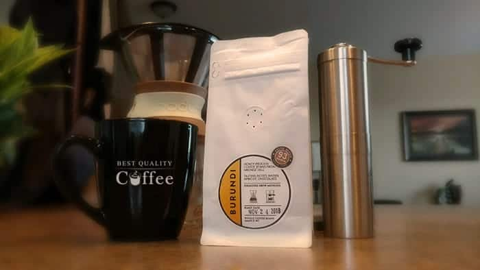 Caffeic Coffee Review- Burundi
