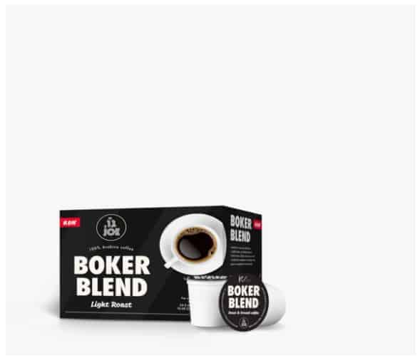 Cafe Joe Boker Blend Light Roast K-Cups