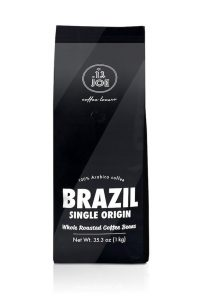 Cafe Joe Single Origin Brazil Whole Bean Medium Roast 9oz