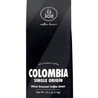 Cafe Joe Single Origin Colombian Whole Bean Dark Roast 9oz