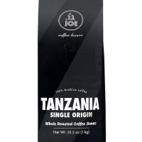 Cafe Joe Single Origin Tanzania Whole Bean Dark Roast 9oz