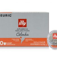 Illy Colombia Medium Roast K-Cup Pods 10ct (Arabica Selection)