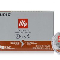 Illy Brazil Dark Roast K-Cup Pods 10ct (Arabica Selection)