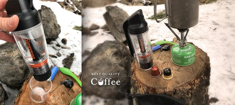 Simpresso Review - Portable Espresso Maker